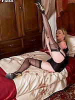 Holly stockings and heels