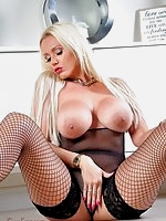 Great shoot this week of the gorgeous Lucy Zara wearing a sexy fishnet bodystocking